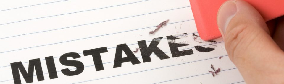 Mistakes - Article to help you to avoid making mistakes when arranging your business insurance